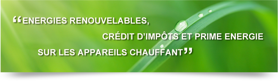 image energie renouvelable credit impot